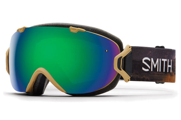 Smith - I/OS Prairie Buffalo Goggles, Green Sol-X Mirror Lenses