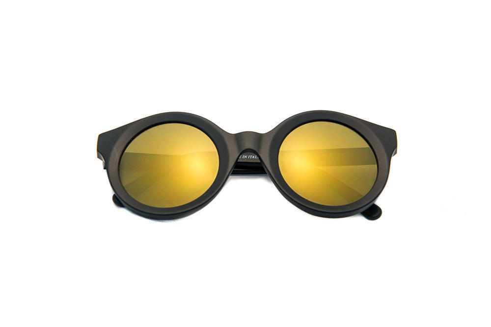 Kyme - Isa Black Sunglasses