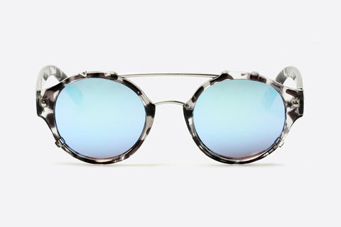 Quay It's A Sin Black / Blue Sunglasses