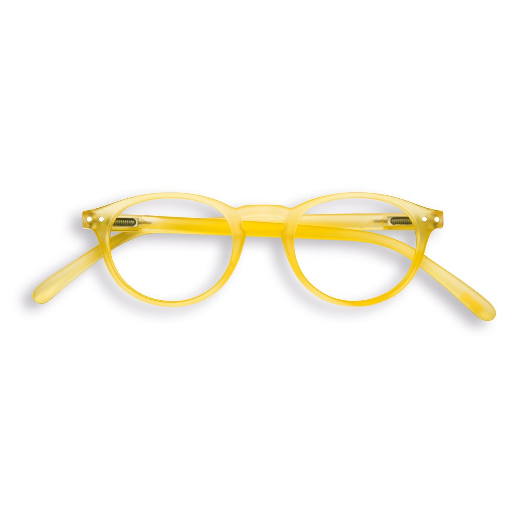 Izipizi - #A Yellow Chrome Reader Eyeglasses / +2.00 Lenses