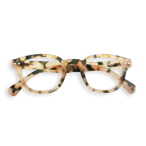 Izipizi - #C Light Tortoise Eyeglasses / Screen Blue Light Clear Lenses