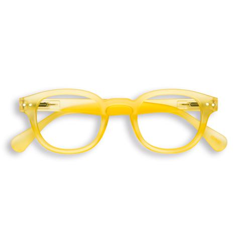 Izipizi - #C Yellow Chrome Reader Eyeglasses / +2.50 Lenses