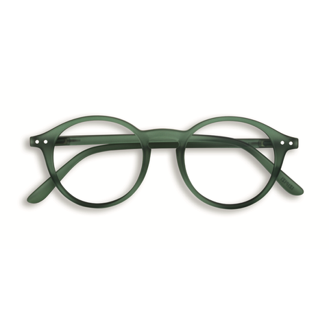 Izipizi - #D Green Moss Eyeglasses / Screen Blue Light Clear Lenses