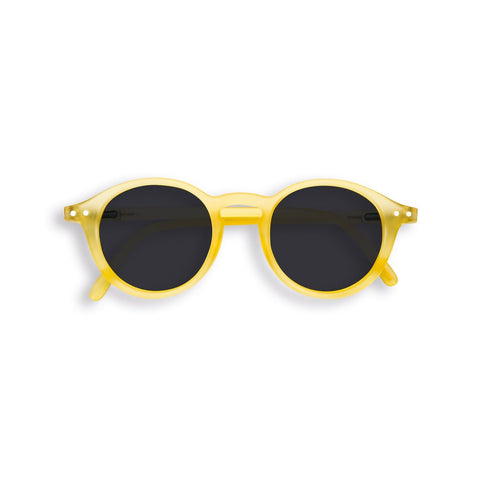 Izipizi - #D Sun Junior Yellow Chrome Sunglasses / Black Lenses