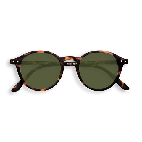 Izipizi - #D Tortoise Sunglasses / Green Lenses