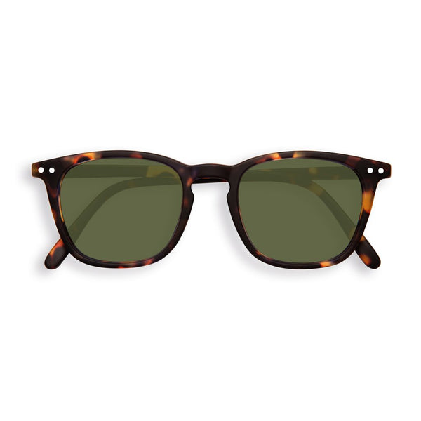 Izipizi - #E Tortoise Sunglasses / Green Lenses