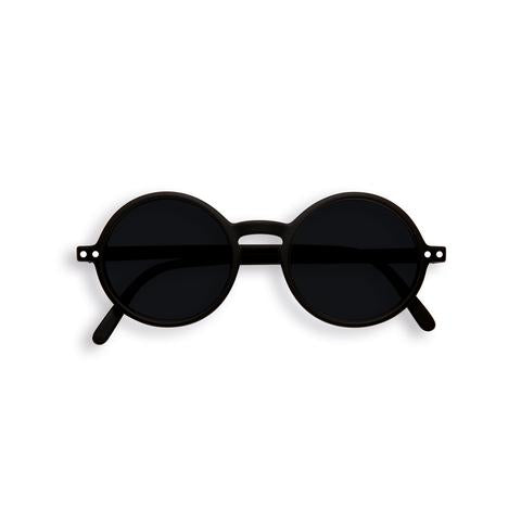 Izipizi - #G Sun Junior Black Sunglasses / Black Lenses
