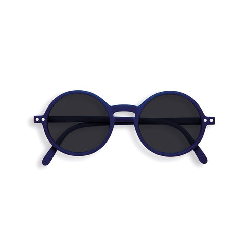 Izipizi - #G Sun Junior Navy Blue Sunglasses / Black Lenses