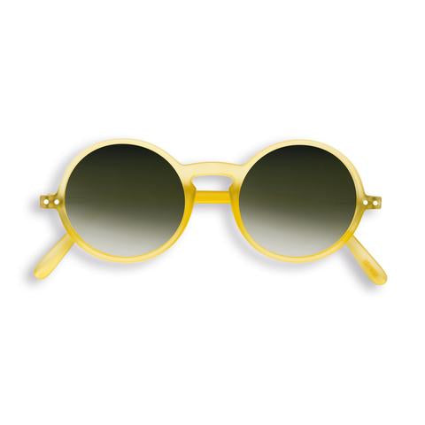 Izipizi - #G Yellow Chrome Sunglasses / Black Fade Lenses