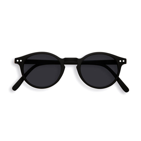 Izipizi - #H Black Sunglasses / Grey Lenses