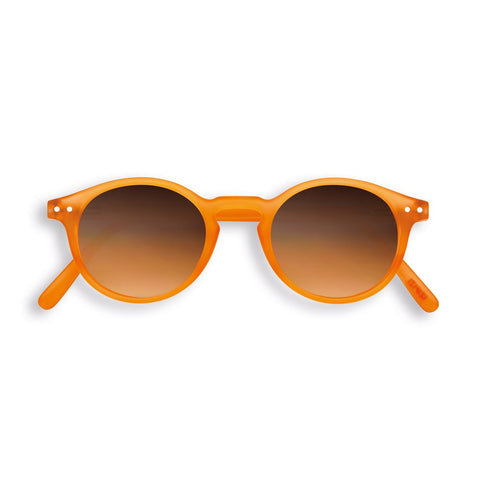Izipizi - #H Orange Flash Sunglasses / Orange Fade Lenses