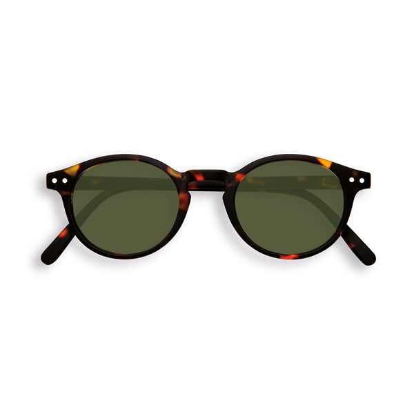 Izipizi - #H Tortoise Sunglasses / Green Lenses