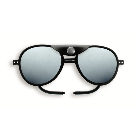 Izipizi - #Sun Glacier Plus Black Sunglasses / Polarized Brown Polycarbonate Lenses