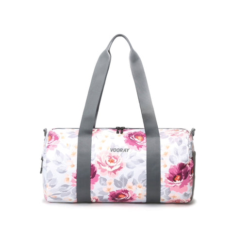 Vooray - Iconic Barrel Peony Duffel Bag