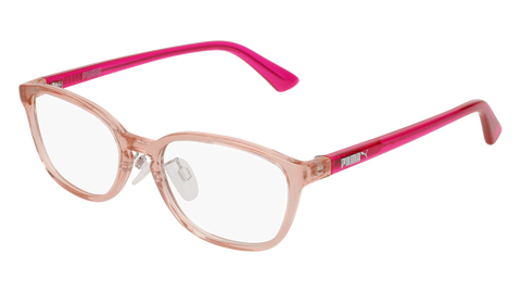 Puma - PJ0017OJ Junior Pink Eyeglasses / Demo Lenses
