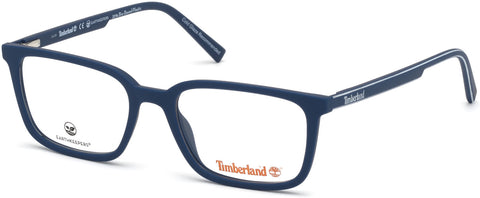 Timberland - TB1621 53mm Matte Blue Eyeglasses / Demo Lenses