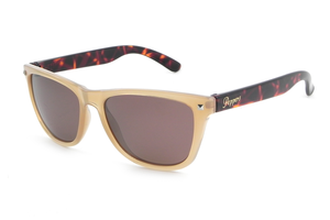 Peppers - Spitfire Caramel Tortoise Temples Sunglasses / Brown Lenses