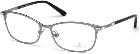 Swarovski - SK5187 Goldie Matte Light Ruthenium Eyeglasses / Demo Lenses