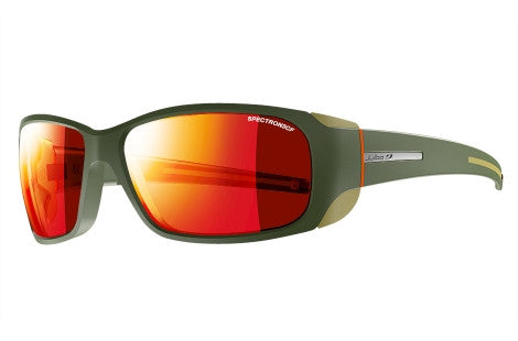 Julbo - MonteBianco Army / Camel / Orange Sunglasses, Spectron 3 CF Lenses