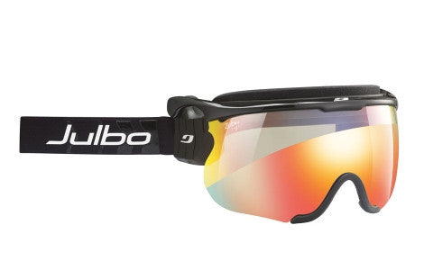 Julbo - Sniper L Black / Black Goggles, Zebra Light Lenses
