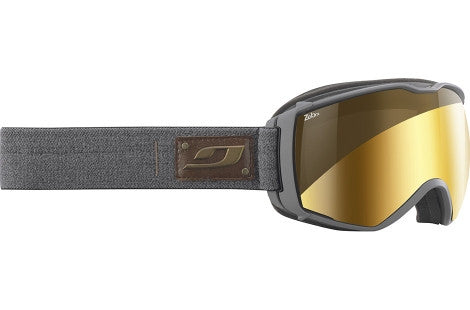 Julbo - Aerospace Grey Goggles, Zebra Lenses