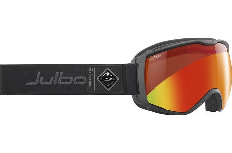 Julbo - Aerospace Black Goggles, Snow Tiger Lenses
