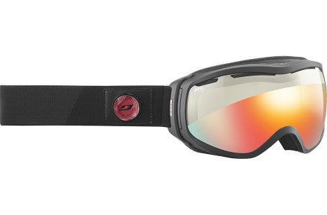 Julbo - Elara Black / Red Goggles,  Zebra Light Lenses