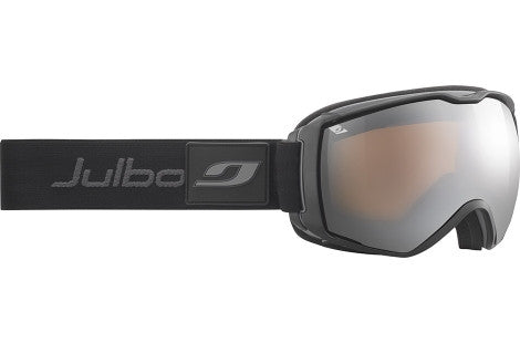 Julbo - Airflux Black / Grey Goggles, Mirror Spectron Cat. 3 Double Lenses