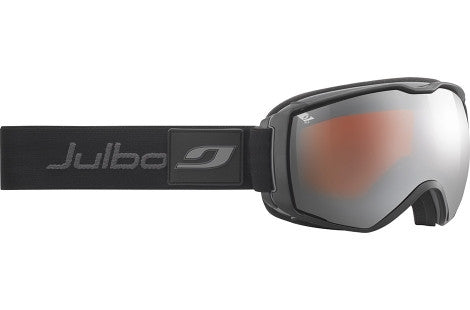 Julbo - Airflux Black / Grey Goggles, Mirror Spectron Polarizing Double Lenses