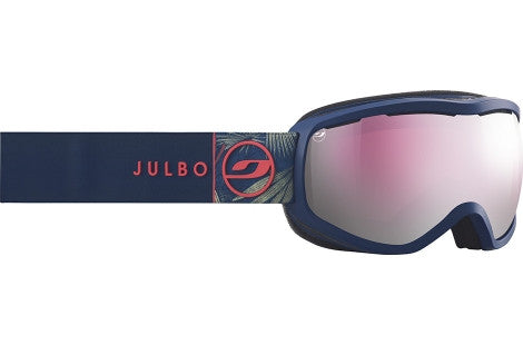 Julbo - Equinox Blue Goggles, Mirror Spectron Cat. 3 Double Lenses