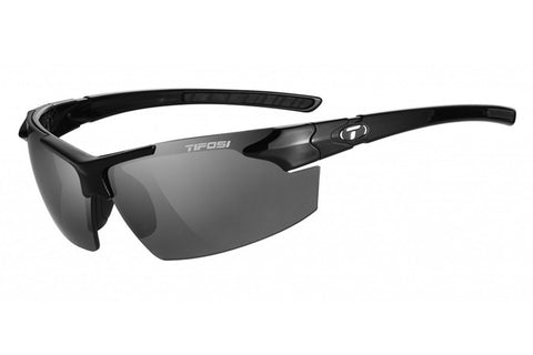 Tifosi - Jet FC Gloss Black Sunglasses, Smoke Lenses