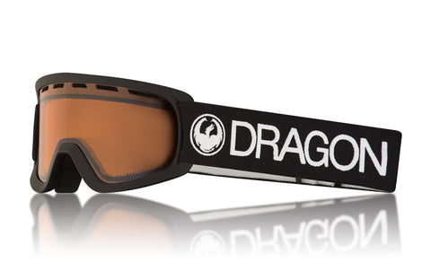 Dragon - Lil D Black Sunglasses / Lumalens Amber Lenses