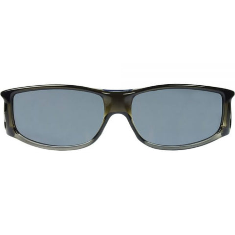 Jonathan Paul Fitovers - Jett Olive Charcoal Fitover Sunglasses / Polarvue Gray Lenses