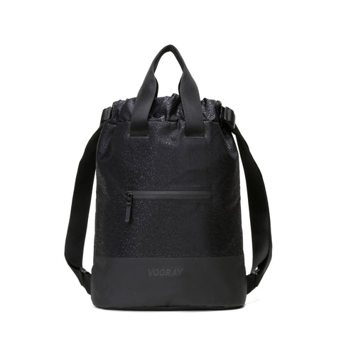 Vooray - Flex Cinch Black Foil Backpack