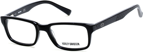 Harley-Davidson - HD0122T Shiny Black Eyeglasses / Demo Lenses