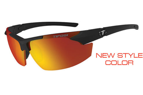 Tifosi - Jet FC Matte Black Sunglasses, Smoke Red Lenses