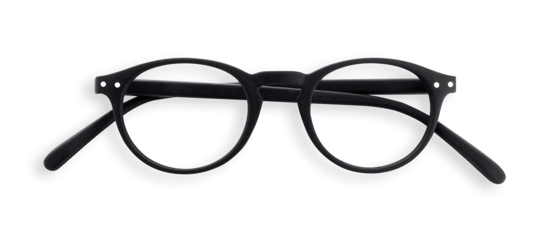Izipizi - #A Black Reader Eyeglasses / +1.50 Lenses