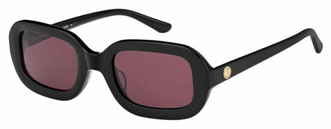 Juicy Couture - Ju 606 S Black Sunglasses / Red Lenses