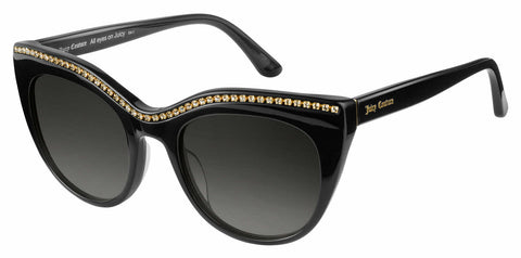 Juicy Couture - Ju 595 S Black Sunglasses / Dark Gray Gradient Lenses
