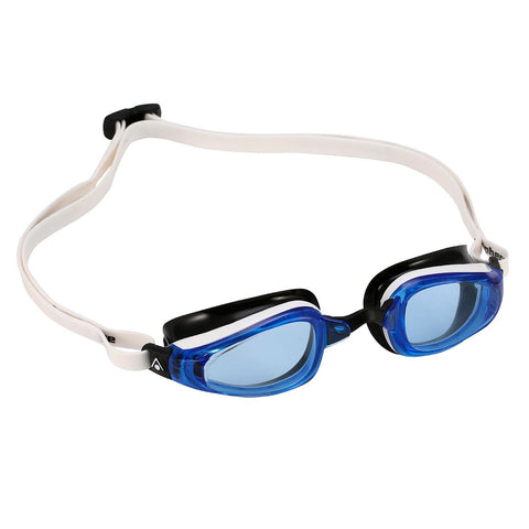 MP Michael Phelps - K180 White Black Swim Goggles / Blue Lenses