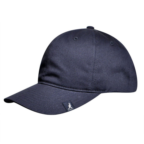 Kangol - Cotton Adjustable Baseball Navy Cap