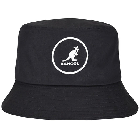 Kangol - Cotton Bucket Black Hat