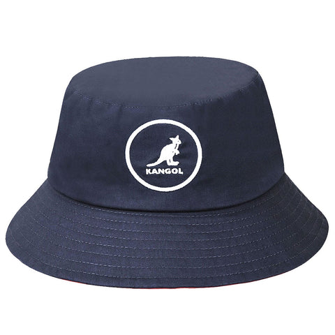 Kangol - Cotton Bucket Navy Hat