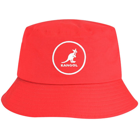Kangol - Cotton Bucket Rojo Hat