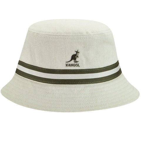 Kangol - Stripe Lahinch Beige Hat