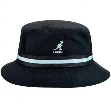 Kangol - Stripe Lahinch Black Hat