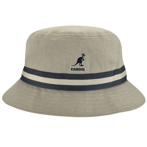 Kangol - Stripe Lahinch Grey Hat