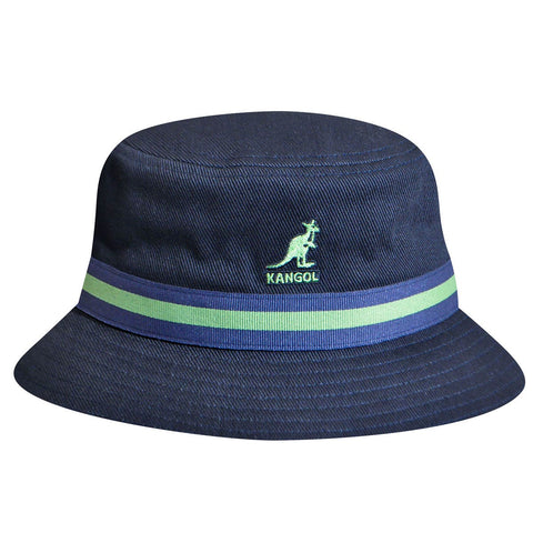 Kangol - Stripe Lahinch Navy Hat