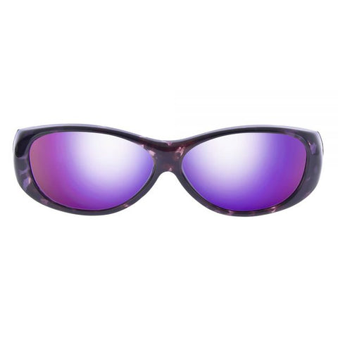 Jonathan Paul Fitovers - Kiata Purple Rain Fitover Sunglasses / Polarvue Purple Mirror Lenses