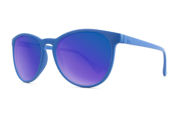 Knockaround - Mai Tais Denim Blue Sunglasses, Moonshine Lenses